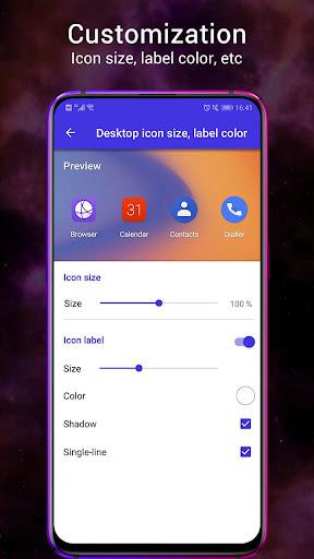 Pie Launcher 2021 ud83dudd25 10.3 Screenshots 7