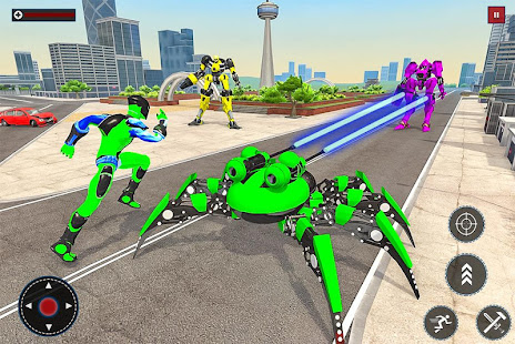 Flying Spider Rope Hero: Gangster Crime City 1.0 Screenshots 7