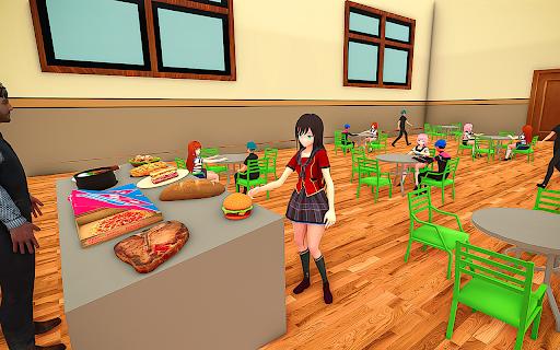 YUMI Girl High School Simulator - Anime Simulator 1.0 screenshots 13