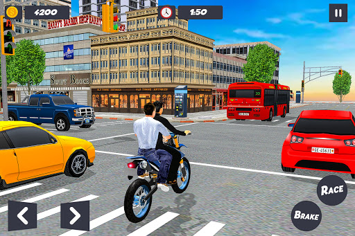 Bike Taxi Simulator: Passenger Transport Game  Pc-softi 11