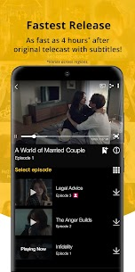 Viu: Korean Drama, Variety & Other Asian Content Apk Mod + OBB/Data for Android. 4