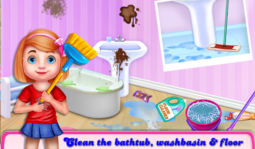 Christmas House Cleaning Game  screenshots 1