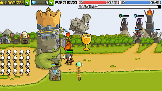 Grow Castle - Tower Defense Screenshot