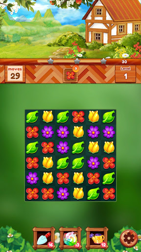 Garden Dream Life: Flower Match 3 Puzzle Apkfinish screenshots 19