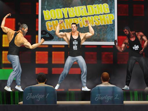 GYM Fighting Games: Bodybuilder Trainer Fight PRO  screenshots 8