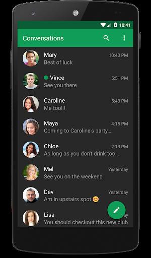 Chomp SMS 8.32 screenshots {n} 2