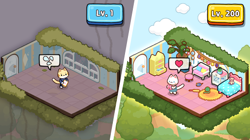 Idle Cat Tycoon : Furniture Craft Shop screenshots 3