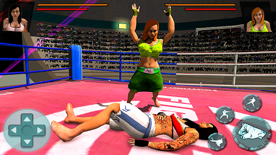Women Wrestling Stars Action Game:Girls revolution Hack for iOS and Android 2