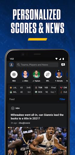 theScore: Live Sports Scores, News, Stats & Videos  Screenshots 2