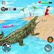 Angry Crocodile Game: Crocodile Attack