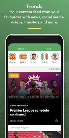 All Goals - Football Live Scoresのおすすめ画像2