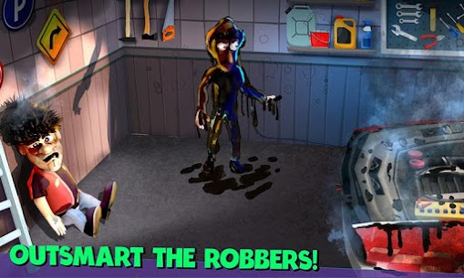 Scary Robber Home Clash Apk Mod + OBB/Data for Android. 3