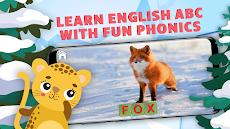 英語、読み方を習って動物たちを助ける。英語ABCを学ぶ教育ゲーム。のおすすめ画像1