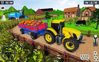 US Tractor Driving Simulator