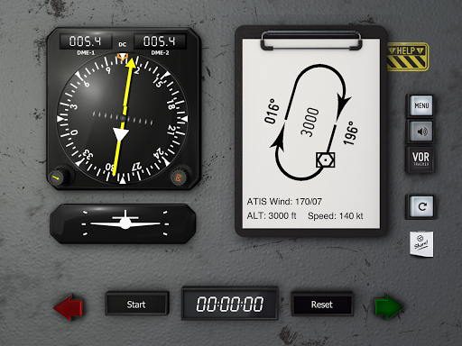 VOR Tracker - IFR Trainer Navigation Simulator Pro  screenshots 12