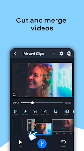 Movavi Clips - Video Editor with Slideshows Screenshot