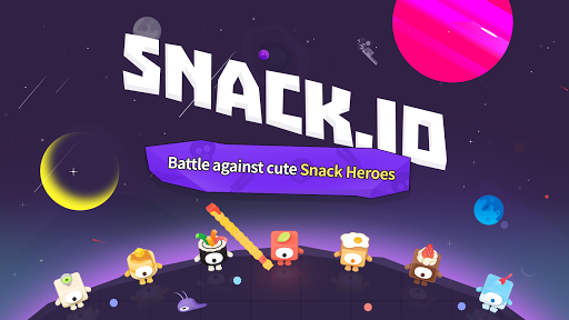 Snack.io - Free online io games with Snack Warrior screenshots 1