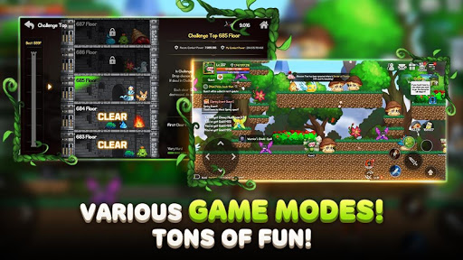 Roem - Pixel Dungeon Raid screenshots 13