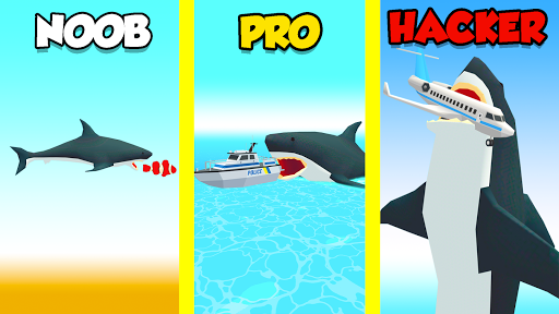 Idle Shark World: Hungry Monster Evolution Game screenshots 17