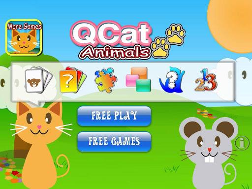 QCat  Animal 8 in 1 Games (Free) 2.5.5 screenshots 7