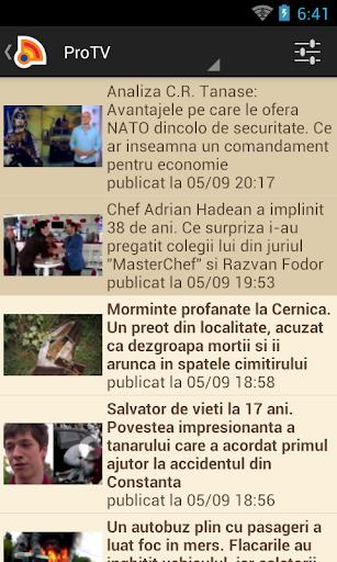 Stiri din Romania 4.9.0 Screenshots 6
