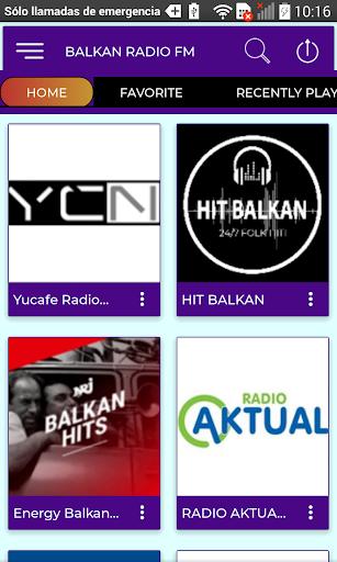 balkan radio fm screenshot 1