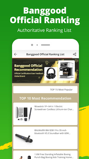 Banggood - Global leading online shop 7.18.1 screenshots 5
