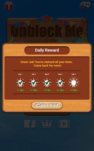 Unblock Me FREE 2.0.13 screenshots 24