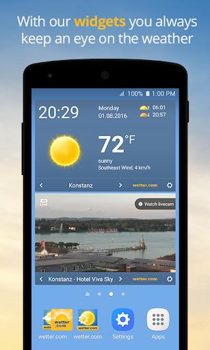 wetter.com - Weather and Radar 2.43.5 Screenshots 4