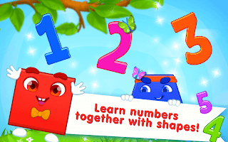 Learning Numbers and Shapes - Game for Toddlers