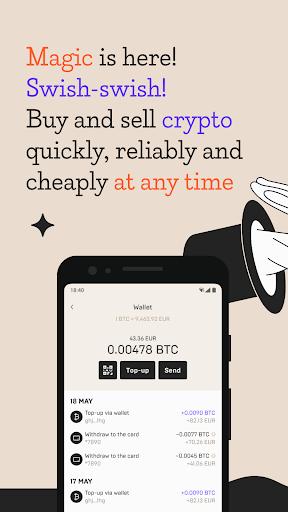 Mercuryo Bitcoin Cryptowallet screenshots 1