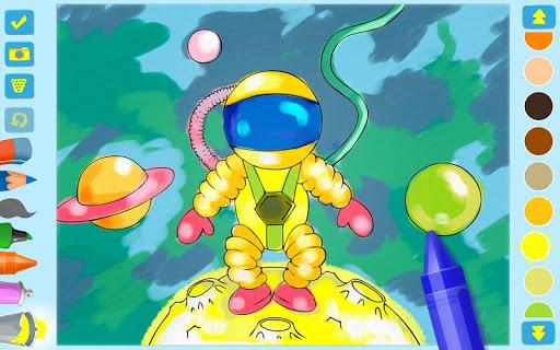 First Coloring book for kindergarten kids 3.0.1 screenshots 4