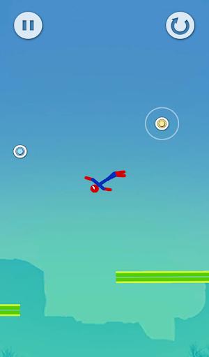 Super Hero Flip: Spider Stickman Hook 0.3 screenshots 5