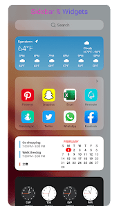 OS14 Launcher Premium v2.6 MOD APK – Control Center, App Library i OS14 4