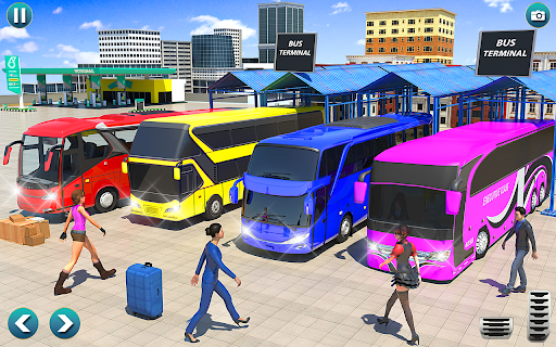 City Bus Simulator 2021: Free Coach Driving 2021  screenshots 16