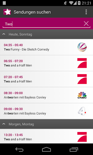 Prime Guide TV Programm  screenshots 6
