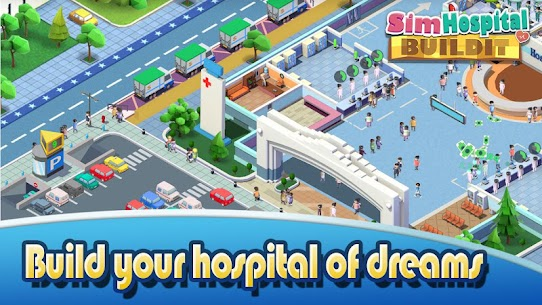 Sim Hospital Buildit MOD (Unlimited Money) 2