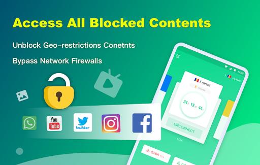 NetCapsule VPN | Free VPN Proxy, Fast VPN, Unblock 1.1.300 Screenshots 3
