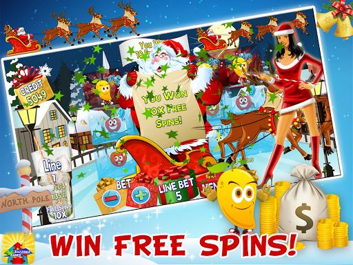 frosty christmas free slot screenshot 1