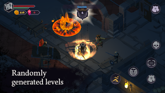 Dread Rune: Roguelike Dungeon Crawler Mod Apk 0.44.7 (God Mode + Unlimited Diamonds) 1