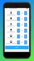 Simple Alcohol Unit Tracker