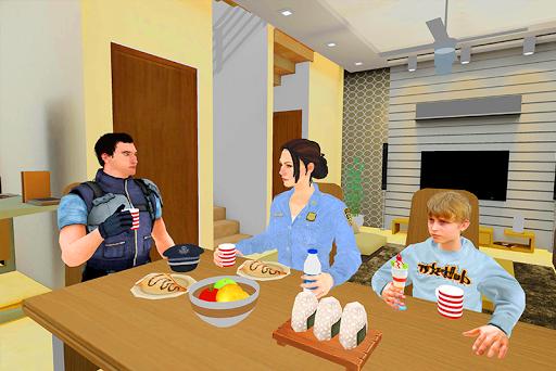 A Police Mom: Virtual Mother Simulator Family Life screenshots 4