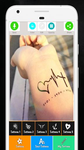 Tattoo Maker - Love Tattoo Maker  Screenshots 5