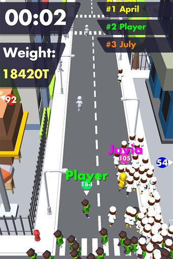 Crowd Buffet - Fun Arcade .io Eating Battle Royale android2mod screenshots 4