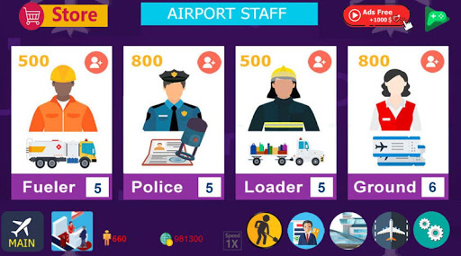 Airport Tycoon Manager  screenshots 15