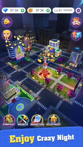 Crazy Night:Idle Casino Tycoon 0.27 screenshots 4