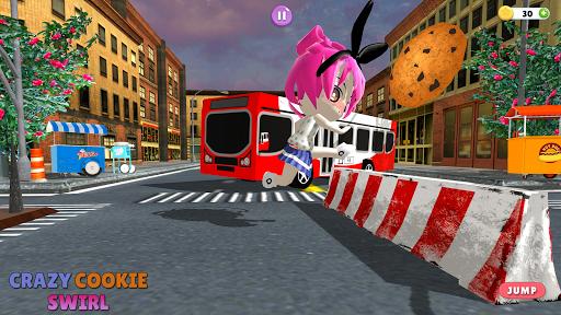 Télécharger New Crazy cookie swirl: The Roboloxe Obby Game apk mod screenshots 1