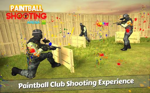 PaintBall Shooting Arena3D : Army StrikeTraining  screenshots 2