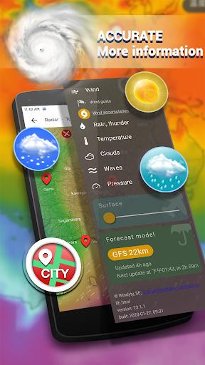 Weather Forecast - Live Weather Radar app 1.2.9 Screenshots 3