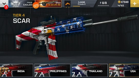 Major GUN : War on Terror 4.1.7 MOD APK [UNLIMITED MONEY] 4